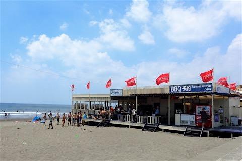 17_江ノ島を臨む鵠沼海岸まで歩いてすぐです!