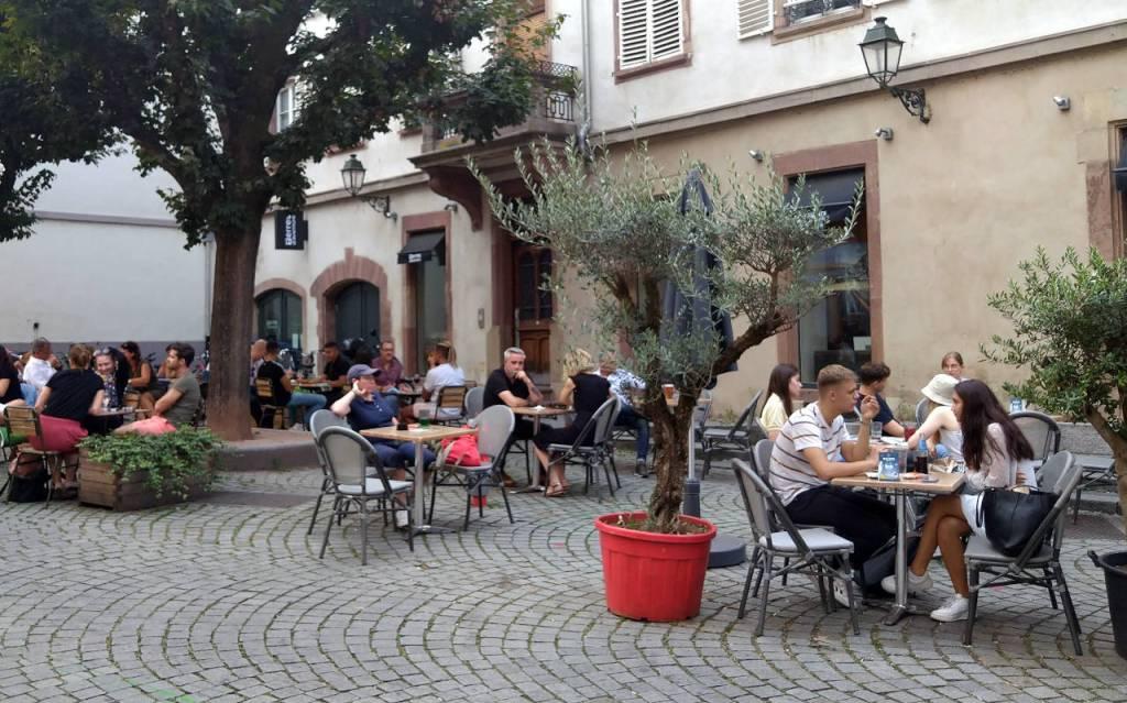フランス・ストラスブールのカフェ © Matsuda Masahiro