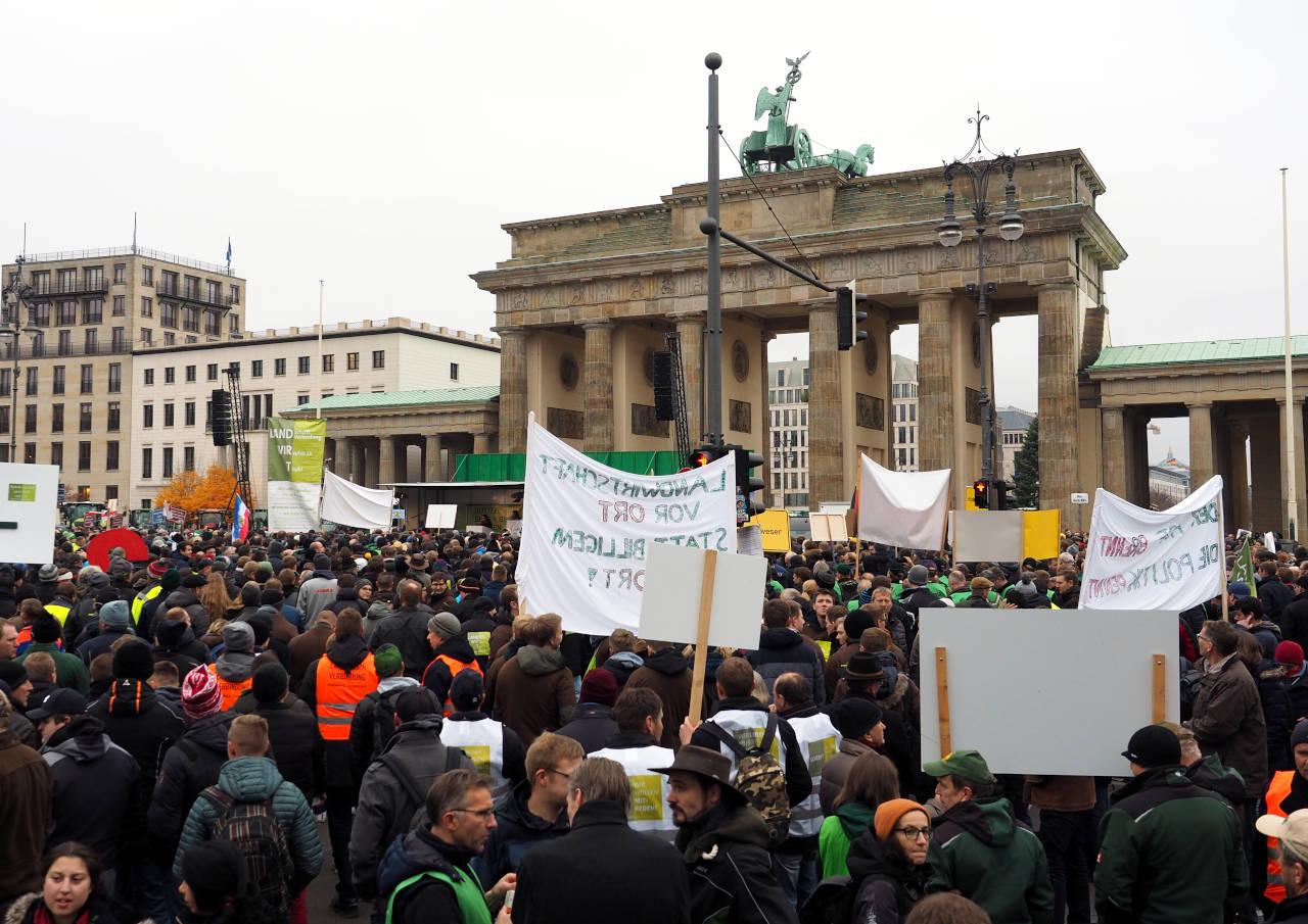 集会の様子、ベルリン ©MATSUDA, Masahiro