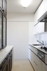 キッチン×既存のカップボード