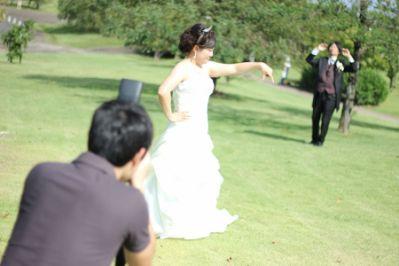 四日市霞ヶ浦緑地で結婚式前撮り撮影!