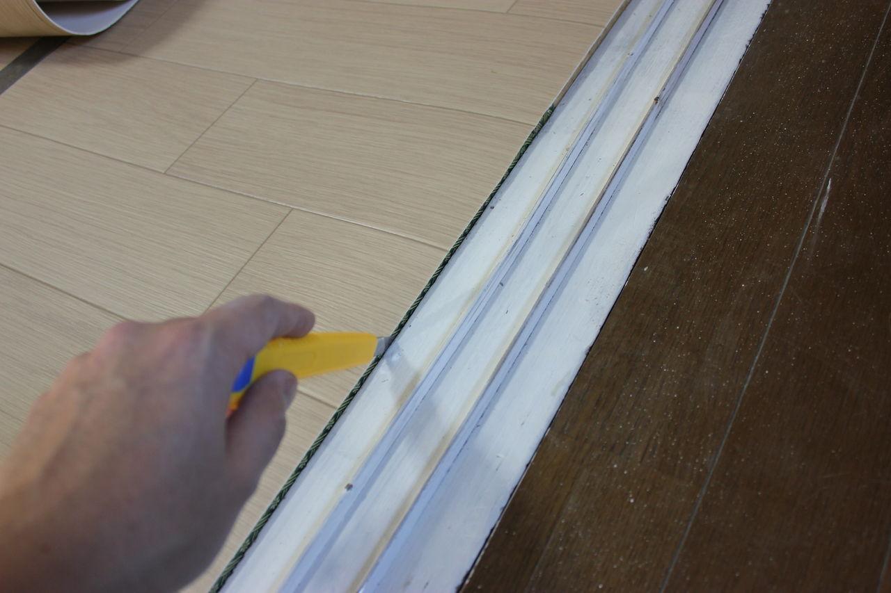 【DIY】和室を洋室にリノベーション。床作業の手間とコストを省く方法。