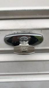 三和シャッターの鍵