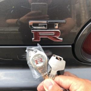GTRの純正キー