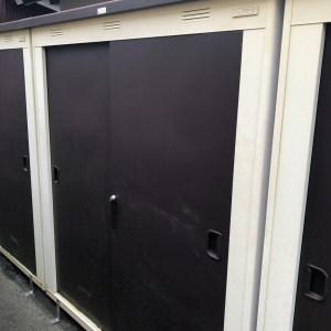 TY収納庫の鍵作成