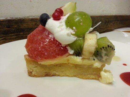 フラッグスカフェのケーキ-1
