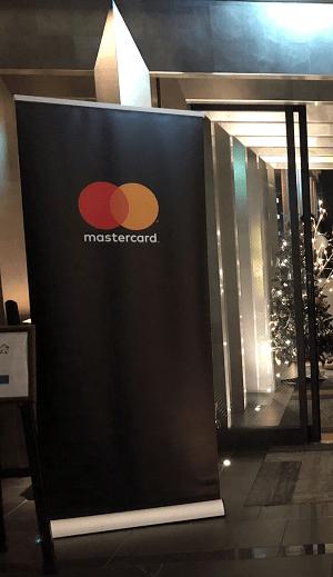 Mastercardの暖簾