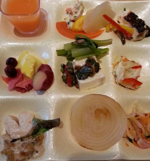 クリエイト・レストランツ・ホールディングスの株主優待ではーべすとで食事 (4)