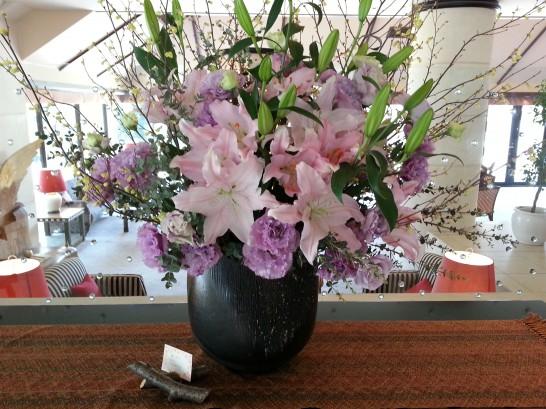 箱根ハイランドホテルのお花