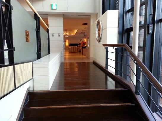 箱根ハイランドホテルのロビー (2)