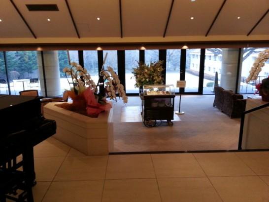 箱根ハイランドホテルのロビー (4)