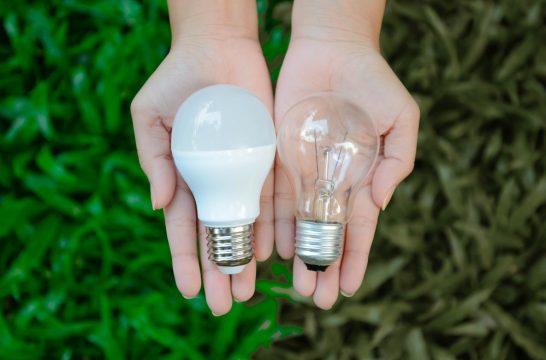 2つの電球の比較