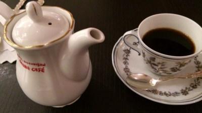 ルミネの喫茶店の珈琲