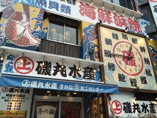 SFPダイニングの磯丸水産店舗