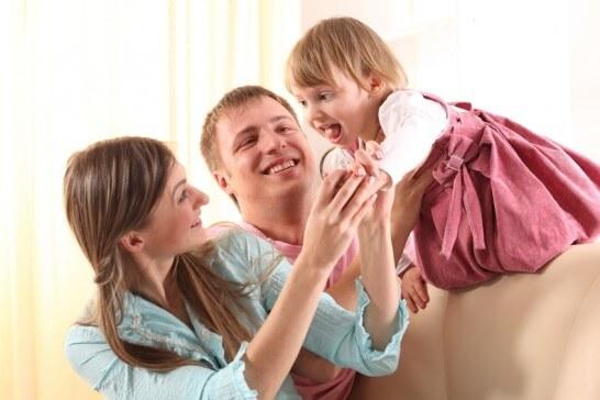 3人の家族