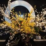 山崎製パンの株主総会の会場のお花