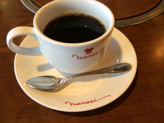 肉の万世のコーヒー