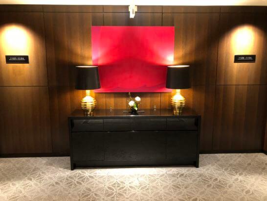 シェラトン都ホテル東京のエグゼクティブフロアフロア