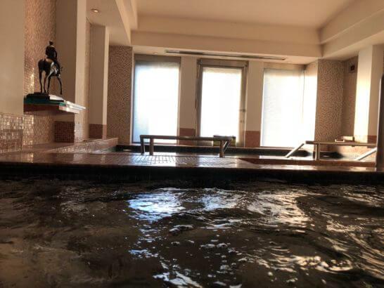 ウェスティンホテル東京のジャグジー