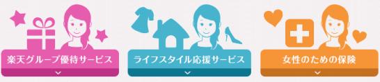 楽天PINKカード限定カスタマイズサービス