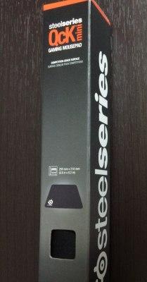 SteelSeries QcK mini マウスパッド 63005の箱