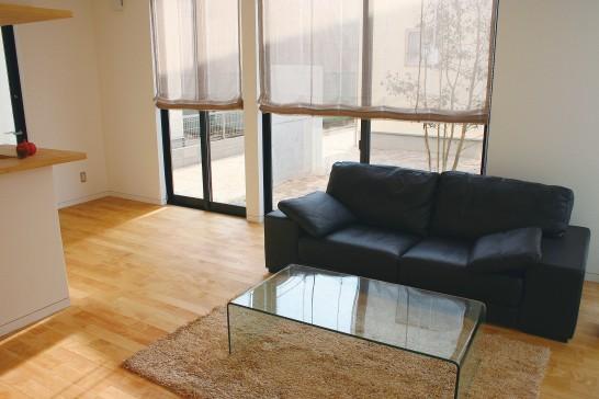 住宅のソファー