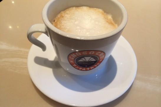 サンマルクカフェのカフェラテ