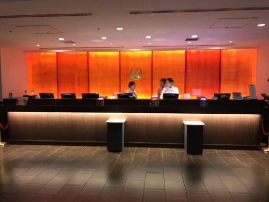 羽田空港のサクララウンジ・ダイヤモンドプレミアムラウンジの入口