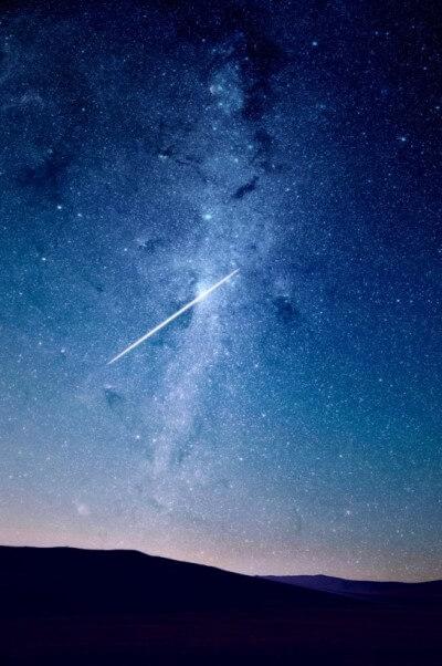 星空の輝き