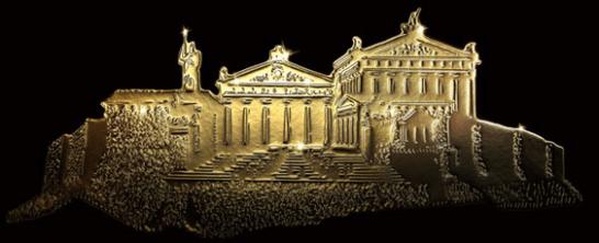 三井住友ゴールドカードのパルテノン神殿のデザイン
