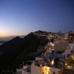 夕暮れのギリシャ・エーゲ海