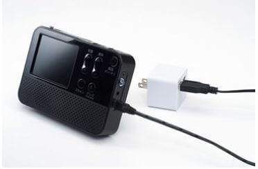 ワイドFM対応ワンセグラジオ