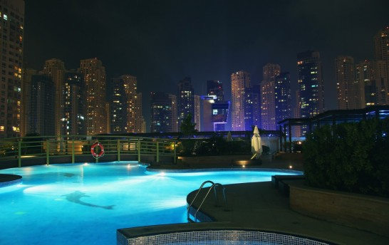 Swimming Pool in Marina Bay