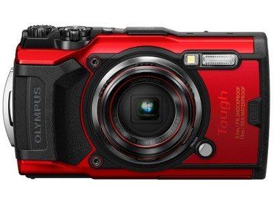 オリンパスのコンパクトデジタルカメラ Tough TG-6 RED