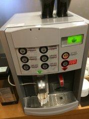 IASS EXECUTIVE LOUNGE 2のコーヒーマシン