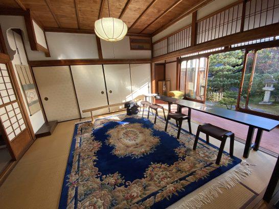 アメックス京都特別観光ラウンジの手前の部屋