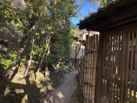 AMEX京都特別観光ラウンジへの通路(祇園側)