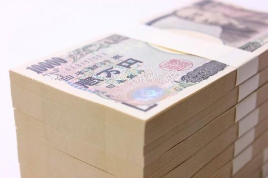 1万円札の札束