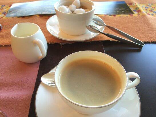 グランドビューのコーヒー