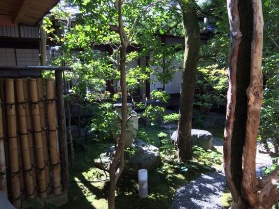 アメックスの京都ラウンジの入り口