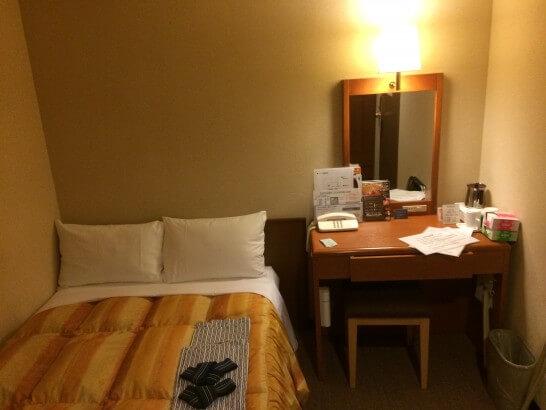 センターホテル大阪の部屋