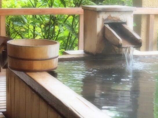 旅行先の温泉
