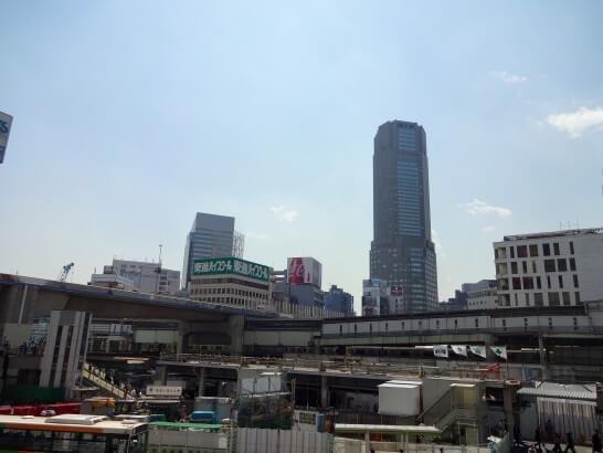 GMOあおぞら銀行のオフィスがある渋谷駅周辺