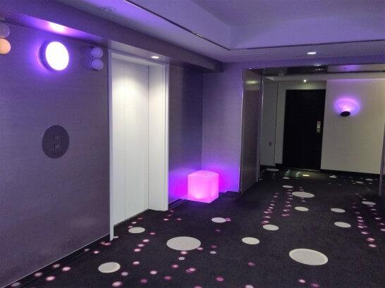 ヒルトン東京ベイのエレベーター