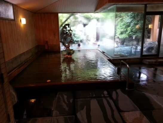星野リゾート 界 伊東のお風呂