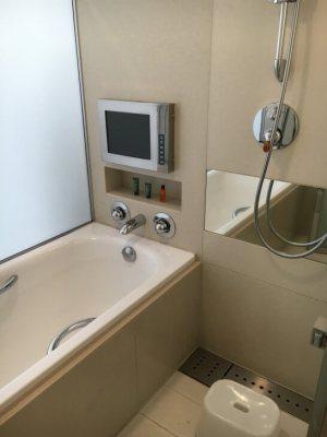 ヒルトン東京ベイの浴槽