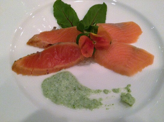 ル・トリアノンの前菜
