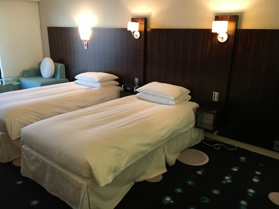 ヒルトン東京ベイのベッド