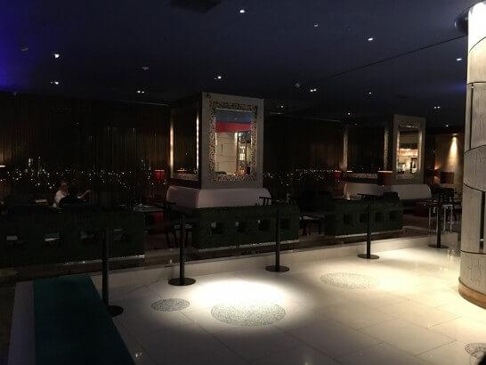 ヒルトン東京ベイのバースペース