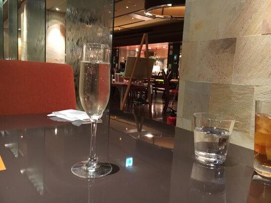 ヒルトン東京ベイの飲み放題のスパークリングワイン